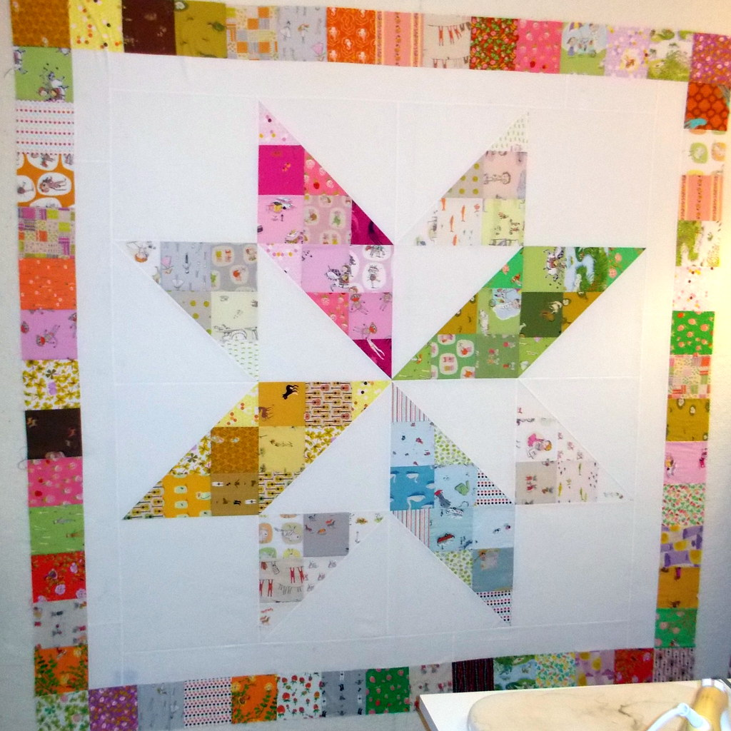 Heather Ross Charm Square Quilt with MBS pattern BOHO Patc… | Flickr : square patchwork quilt - Adamdwight.com