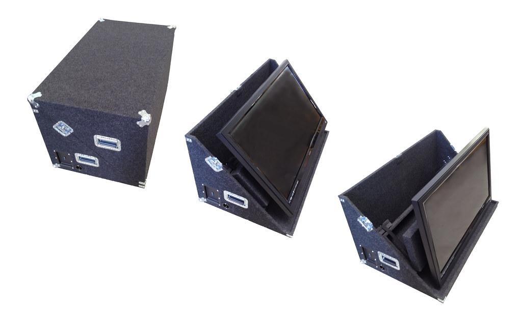 Aluminum Case 28 Inch 4k TFT LCD Monitor