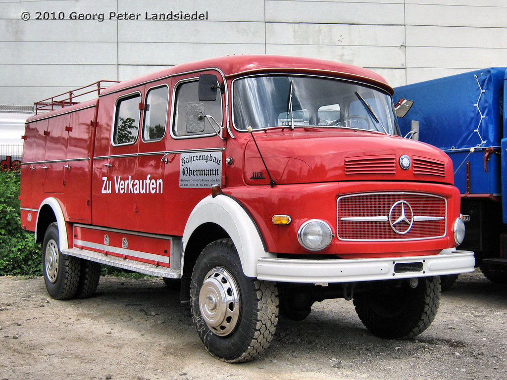 Mercedes Pompier