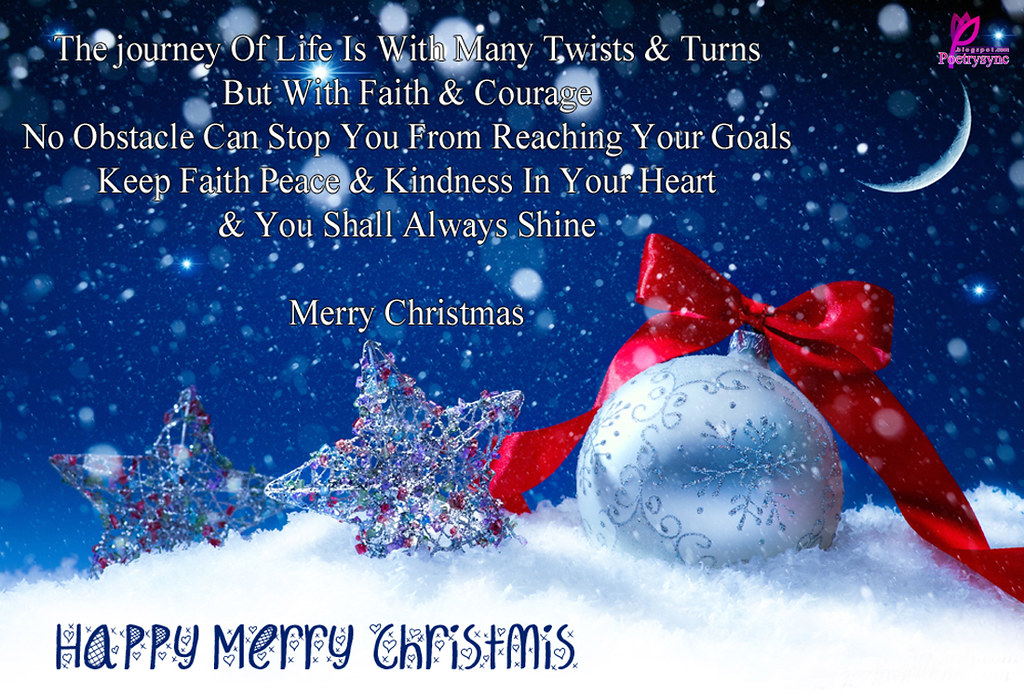 Merry-Christmas-Greetings-Card-and-Quote-Message-Images-Ha… | Flickr