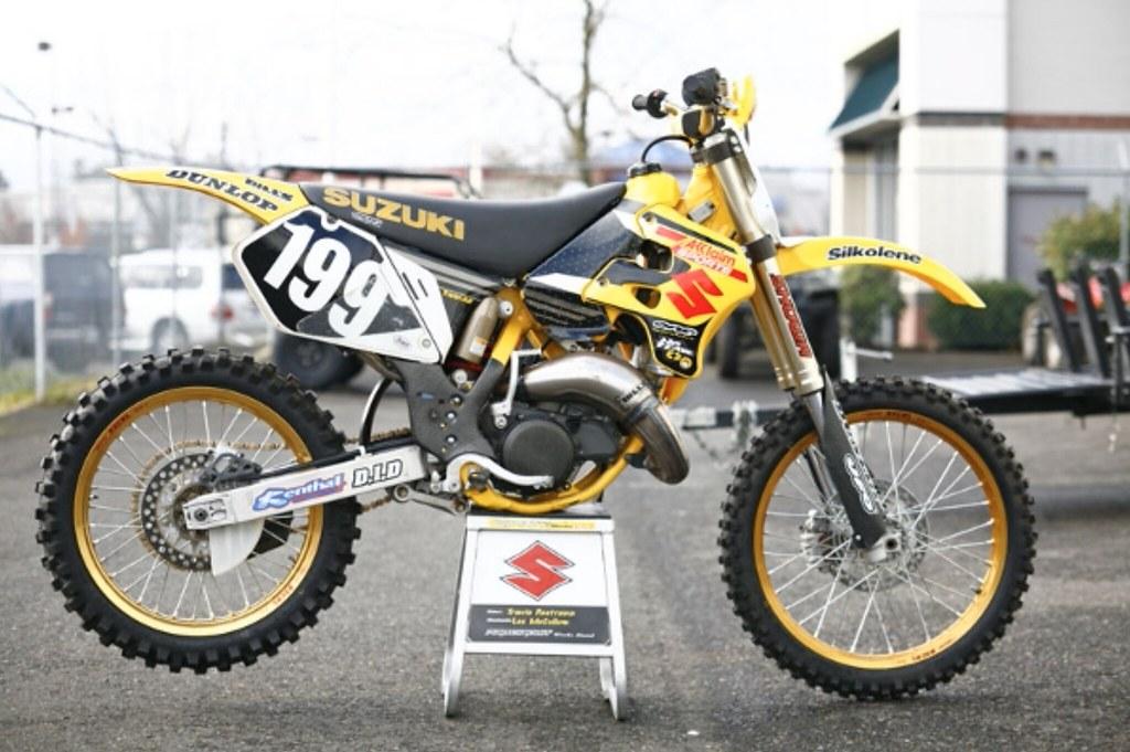 Travis Pastrana U0026 39 S 2000 Factory Suzuki Rm125