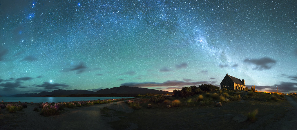 A Myriad Stars Over Lake Tekapo Lake Tekapo New Zealand