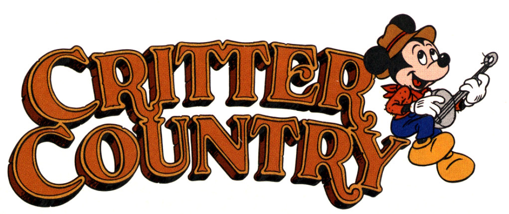 1989 Disneyland Logo - Critter Country | Via Vintage ...