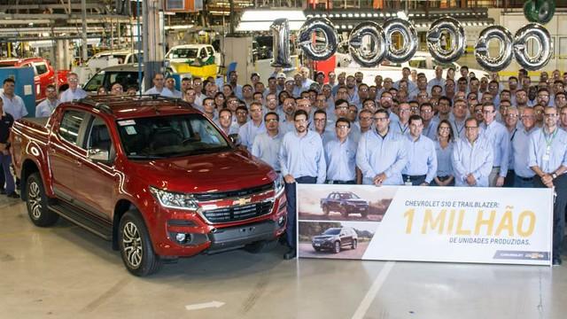 Chevrolet - Produção do exemplar 1 milhão