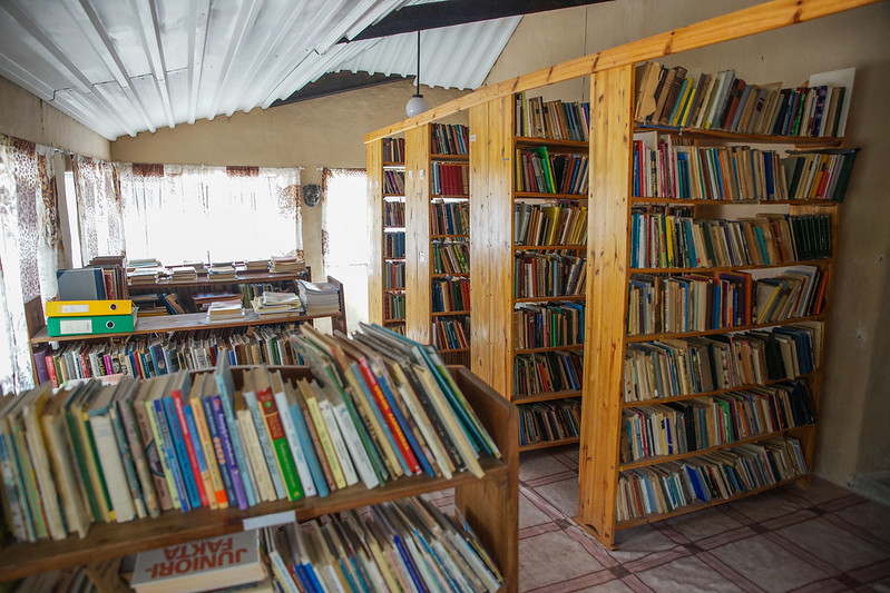 The house library
