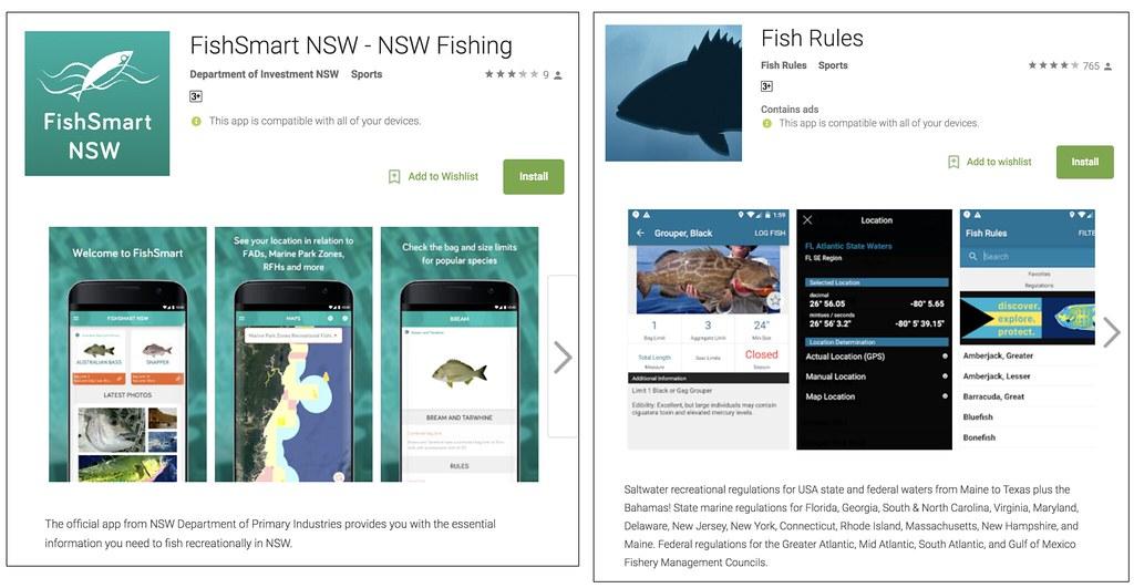 圖二。fish rules
