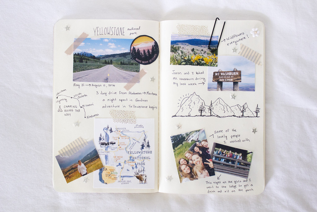 Travel Diary DIY