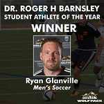 Dr Roger H Barnsley Student Athlete of the Year - Men (Ryan Glanville)