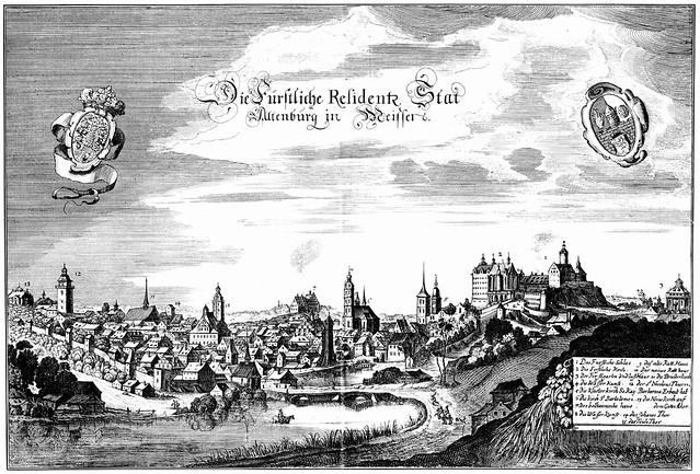 Matthäus Merian - Altenburg (c.1650)