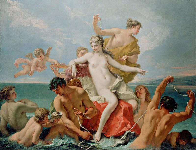 Sebastiano Ricci - Triumph of the Marine Venus (c.1713)