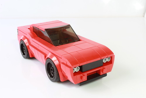 My Dodge Challenger as a Speed Champions car (with instructions)