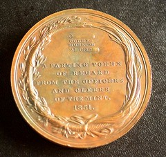 1851 Robert Patterson Mint Medal reverse