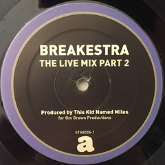BREAKESTRA:THE LIVE MIX PT.2(LABEL SIDE-A)