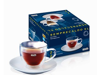 Set 2 tazze Semprecaldo XL per Tea-cappuccino Caffitaly