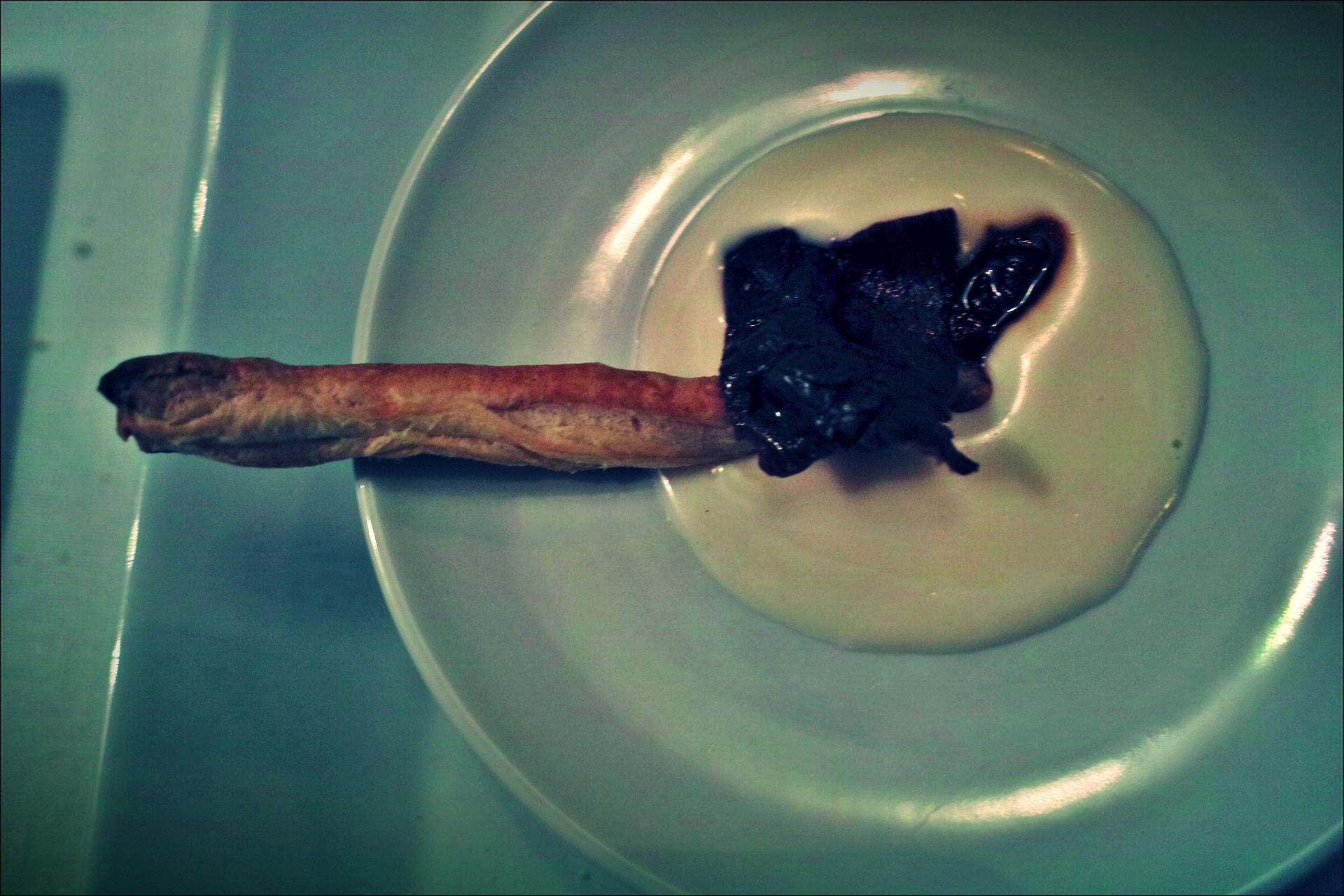 이름모를 요리-'자카란다 레스토랑, 산탄데르(Restaurante Jacaranda, Santander)'