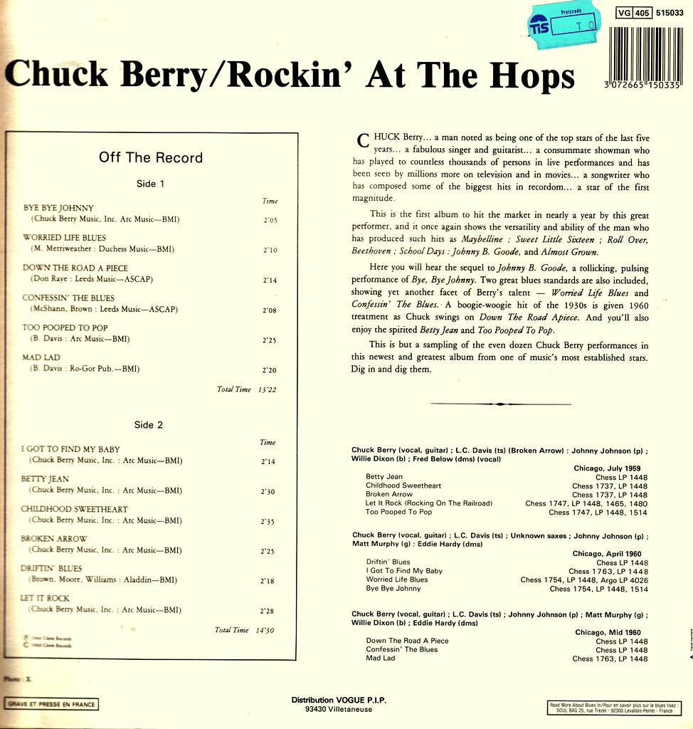 4 - Berry, Chuck - Rockin' At ...
