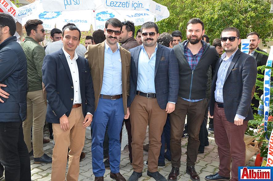 Ali Mollaömeroğlu, Hasan Yenialp, Emin Özmüftüoğlu, Ali İhsan Babaoğlu, İbrahim Özmüftüoğlu