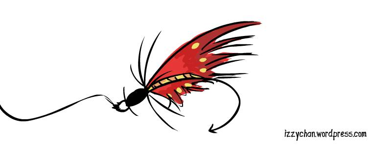 fly lure red