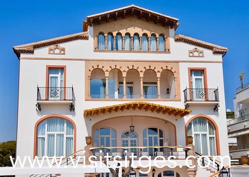 Casa vilella sitges la casa vilella obre portes aquest mes flickr - Hotel casa vilella ...