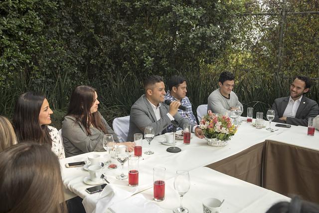 Elap Vertice con integrantes de Timberland México / Vertice Campus Sur