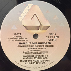 HAIRCUT ONE HUNDRED:GET CLIPPED!(LABEL SIDE-B)