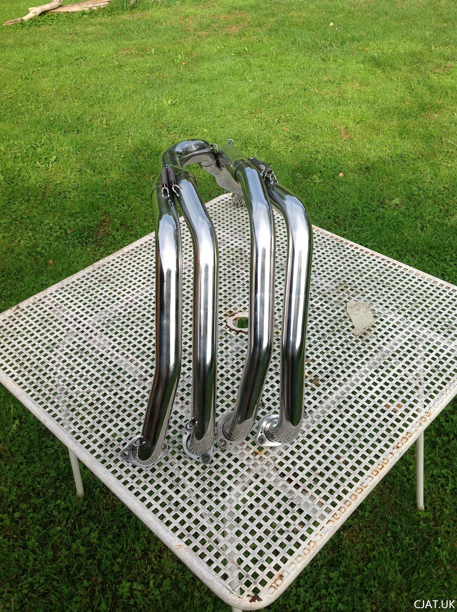 Auspuff RF 900 R BOS Carbon Steel oval SUZUKI RF 900 R ab
