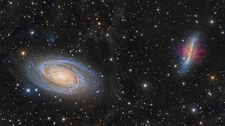 M81 and M82 | by Paddy Gilliland @ Image The Universe