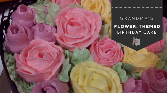 Project Sweets' Flower-themed Birthday Cake