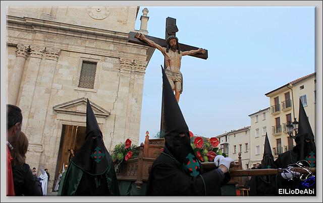 Procesión del Santo Entierro en la Semana Santa de Briviesca 2017 16