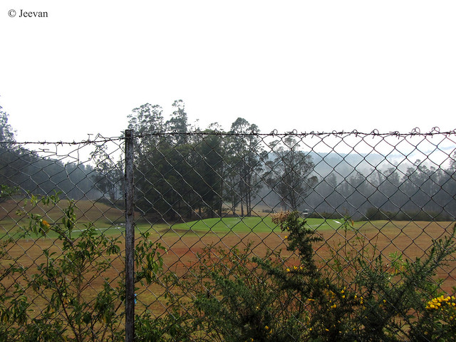 Ooty golf course...