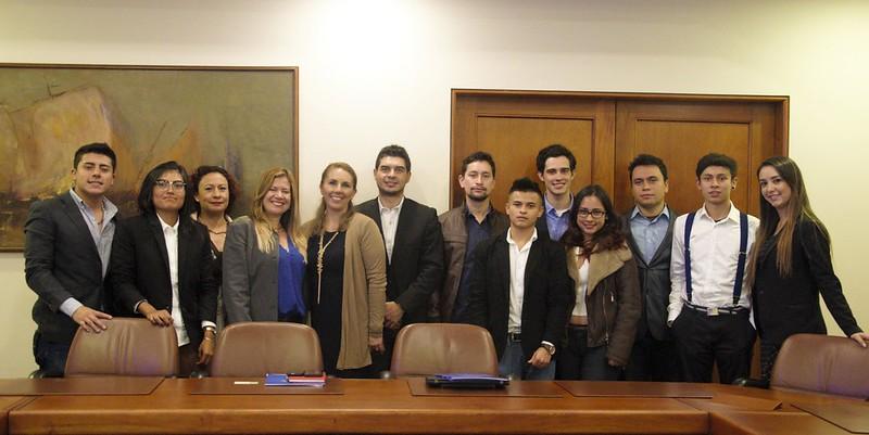 Hábitat Internacional para trabajo social en el barrio Bosque Calderón.