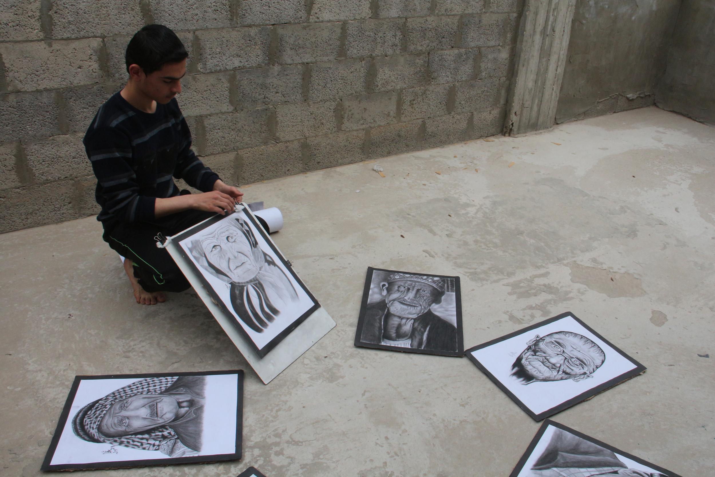 عمر رضوان غزة  (8)