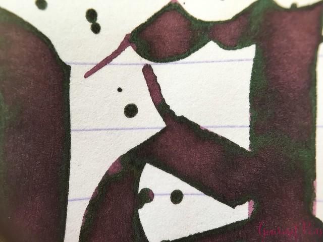 Ink Shot Review Diamine Music Handel @AppelboomLaren 7