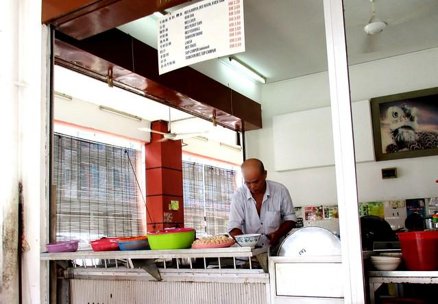 Lok Ming Yuen kampua stall