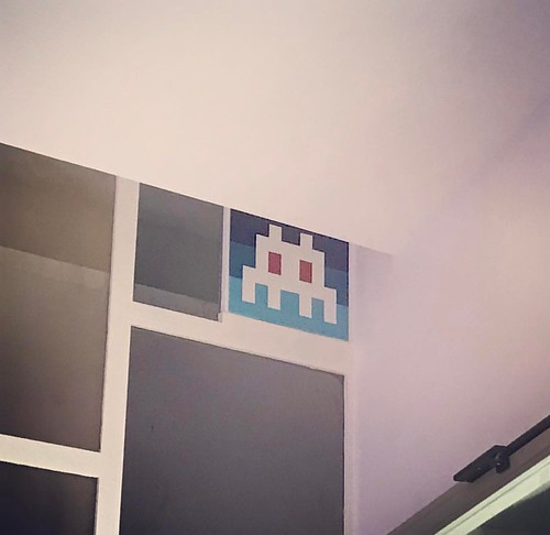 Hello my game is... PA_1264 #spaceinvader #invader #paris #streetart #hellomygameis | by zemoko