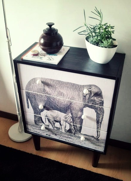 Ikea malm dresser with mirror
