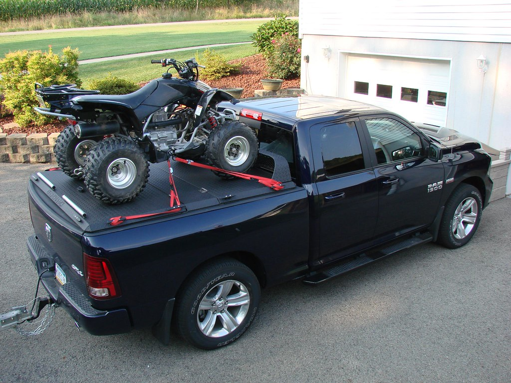 Atv In Truck Bed With Toolbox