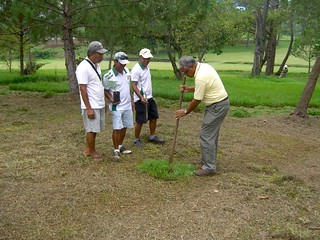 Tree Planting | by Frankie Miñoza Golf Foundation