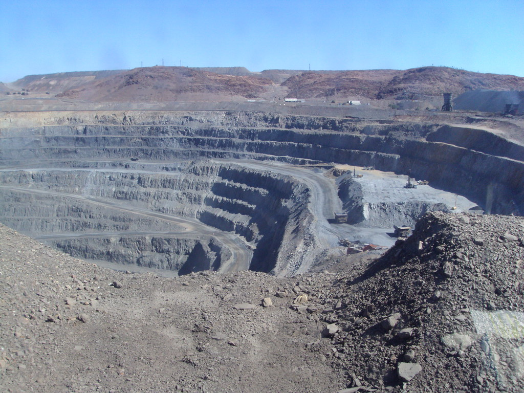 Mt Isa mines. One of the big holes adjacent to the city.