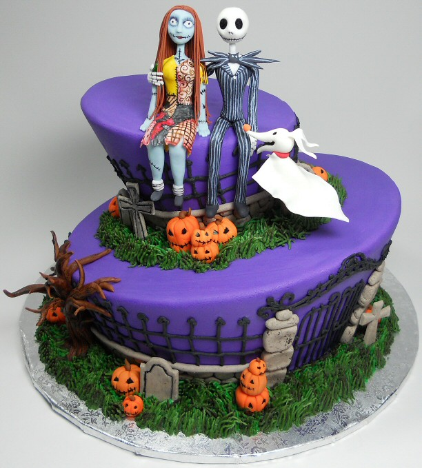 Jack And Sally Birthday Cake