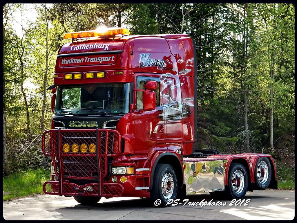 scania r730 v8 topline 6x2 wadman sweden ps truckphotos flickr. Black Bedroom Furniture Sets. Home Design Ideas