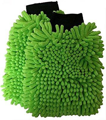 microfiber mitts