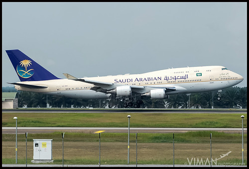 Saudi Arabian Royal Flight Boeing 747-400 | by Viman Photography