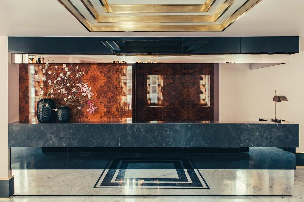 Elegant hotel Saint-Marc in Paris by the Milan design agency DIMORESTUDIO Sundeno_01