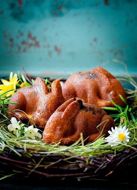 Süße Häschen mit Nutella-Füllung