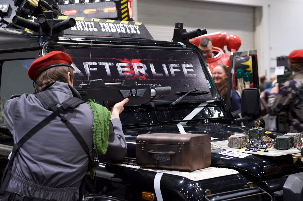 Afterlife demo truck