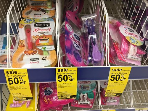 Schick Disposable Razors at Walgreens