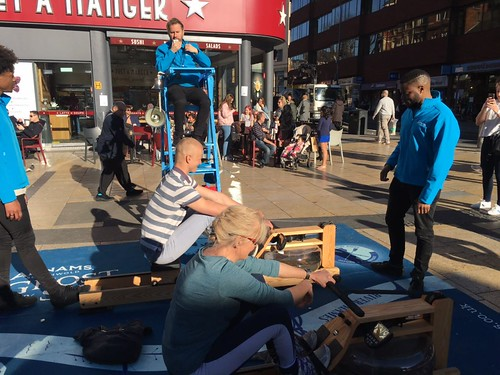 Adnams Rowing Challenge Day 3 - Lyric Square, Hammersmith