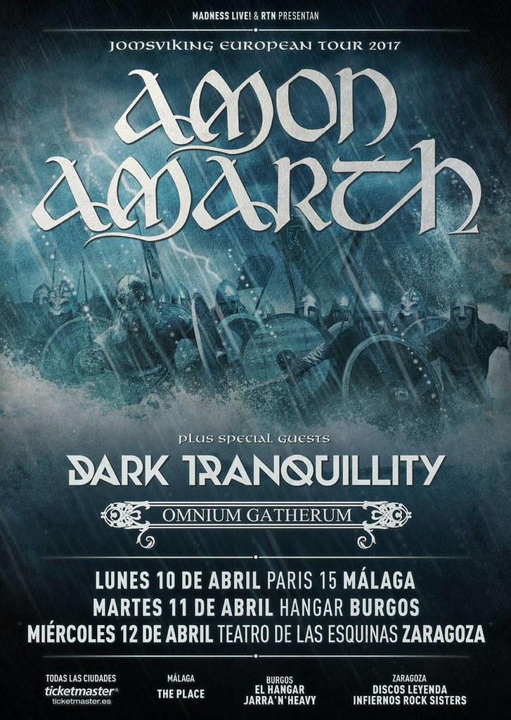 Nuevas fechas de Amon Amarth por España