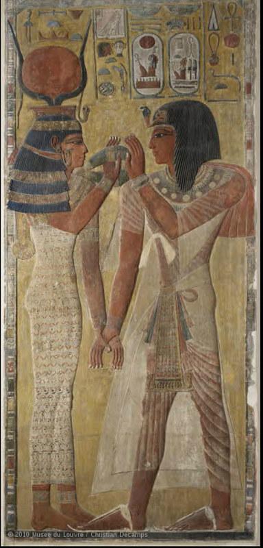 1-37-セティ1世を迎えるハトホル女神r1
